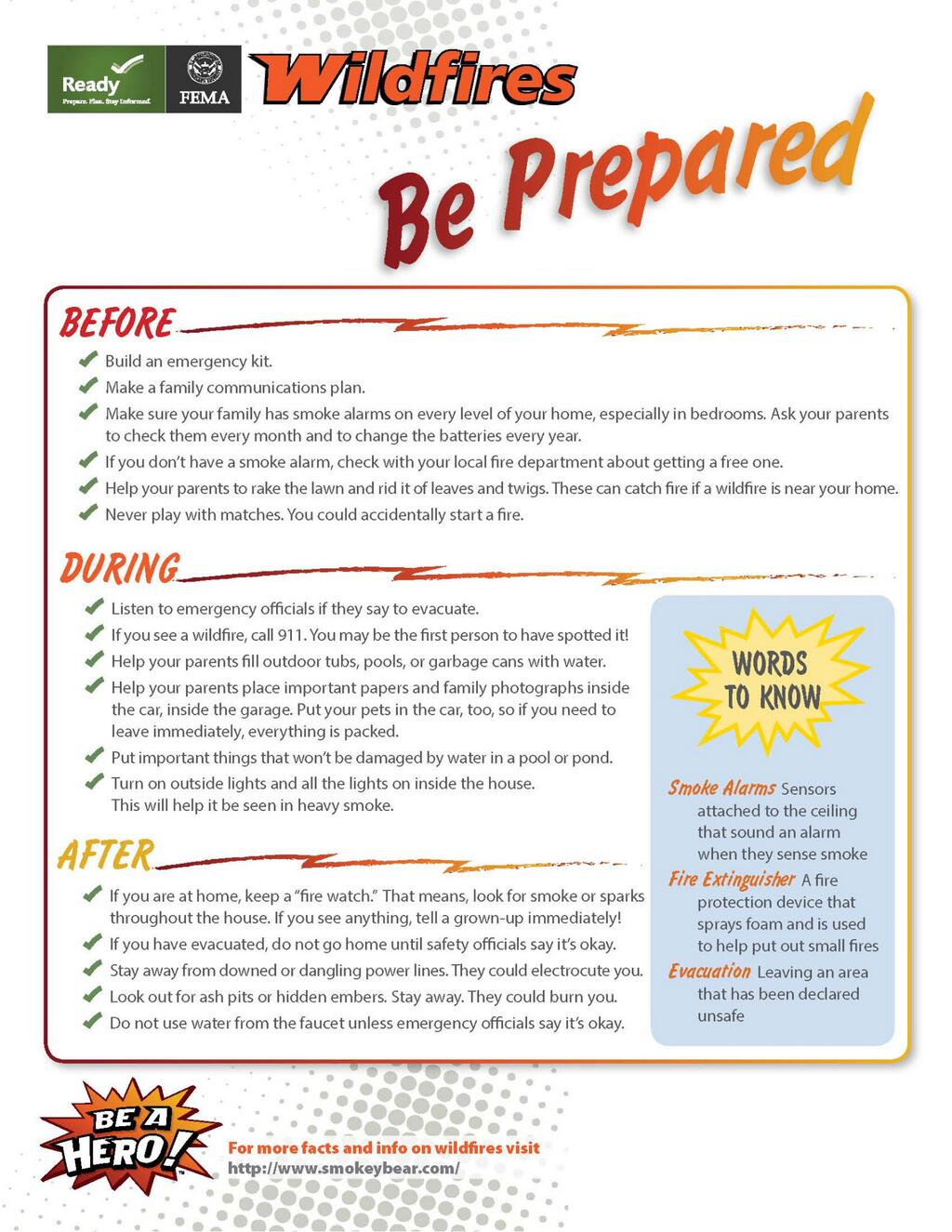 Wildfire Safety Toolkit – NOW IS THE TIME TO PREPARE!